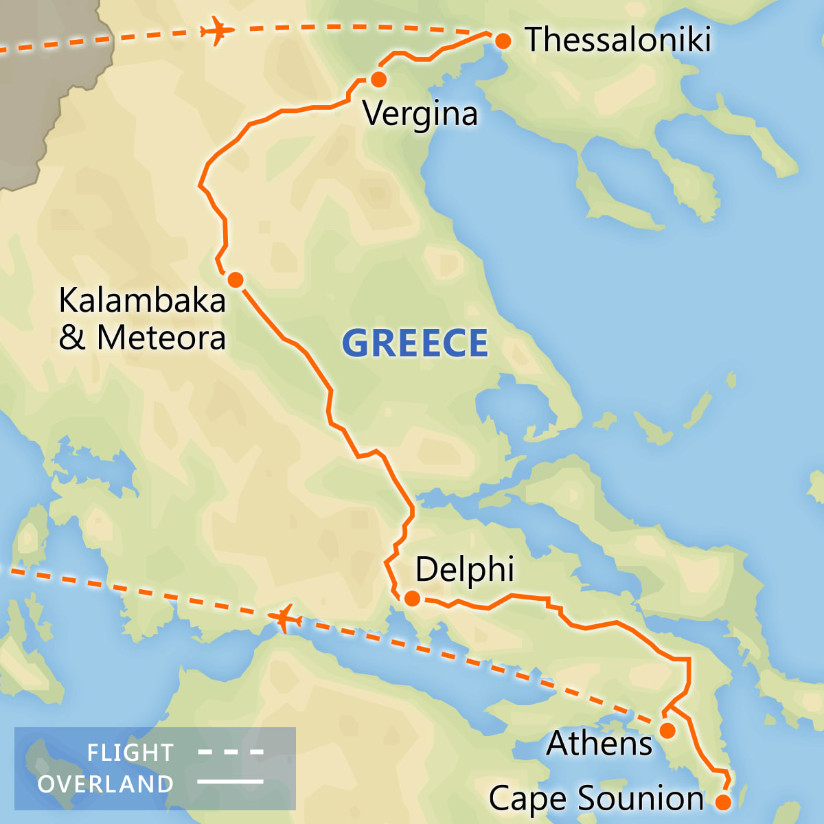 Best of Classical Greece itinerary