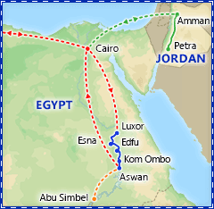 Best of Egypt & Nile Cruise itinerary