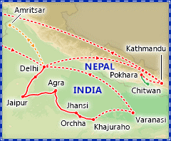 Best of India & Nepal itinerary