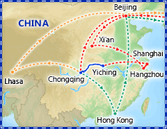 Best of China & Yangtze River Cruise itinerary