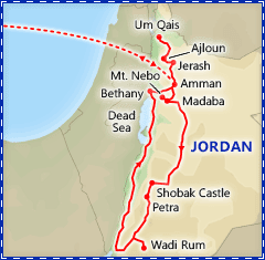Best of Jordan itinerary