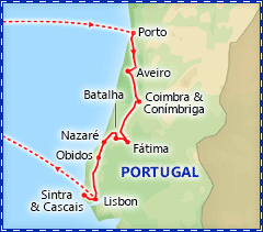 Best of Portugal itinerary