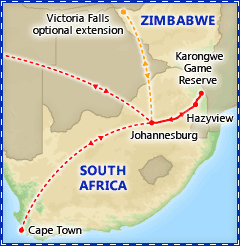 Best of South Africa itinerary