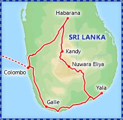Best of Sri Lanka itinerary