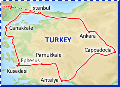 Best of Turkey itinerary