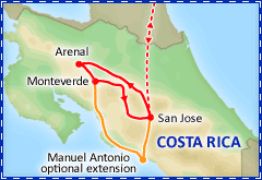 Captivating Costa Rica itinerary