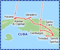 Captivating Cuba itinerary