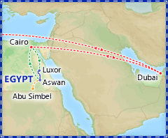 Dazzling Dubai & Cairo itinerary