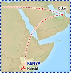 Dazzling Dubai & Kenya Safari itinerary