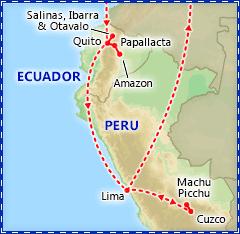 Enchanting Ecuador & Peru itinerary