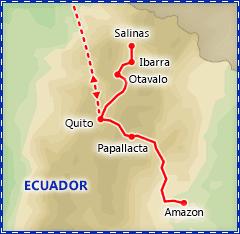 Enchanting Ecuador itinerary