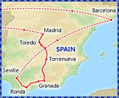 Enchanting Spain itinerary