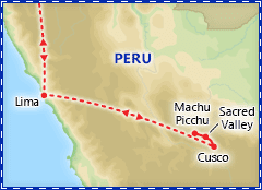Exotic Peru itinerary