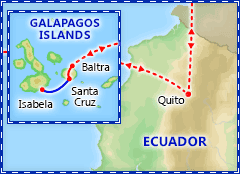 Galapagos Islands Adventure itinerary