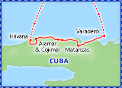 Highlights of Havana & Varadero itinerary