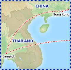 Hong Kong & Bangkok Adventure itinerary