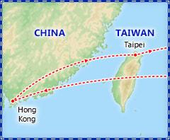 Hong Kong & Taipei Adventure itinerary