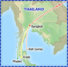 Romantic & Relaxing Thailand itinerary