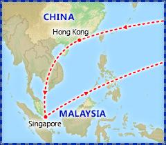 Singapore & Hong Kong Adventure itinerary