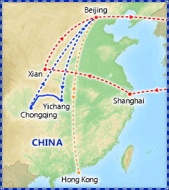 A Taste of China itinerary