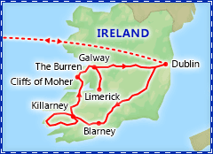 A Taste of Ireland itinerary