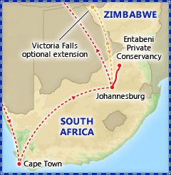 A Taste of South Africa itinerary