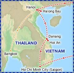 A Taste of Vietnam itinerary
