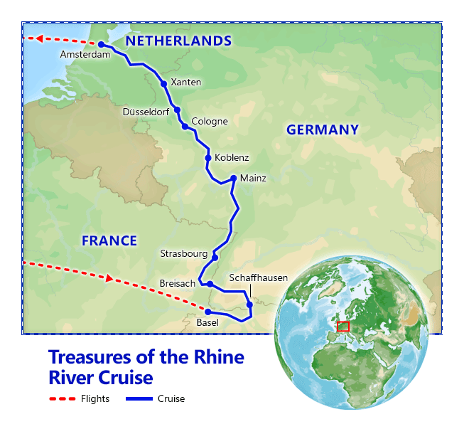 Treasures Of The Rhine River Cruise Vacation Packages By - Rhine river