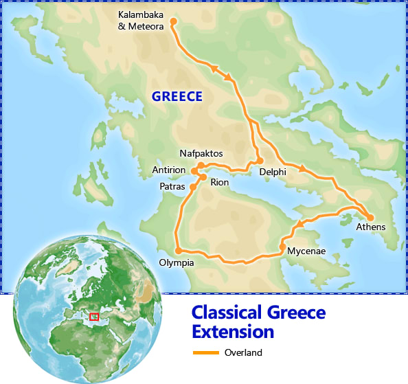 Classical Greece Optional Extension map