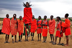 Masai traditional dance
