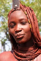Himba tribal woman