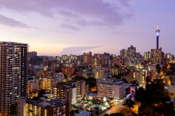 Johannesburg cityscape © South African Tourism