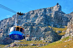 Cable car to Table Mountain, Cape Town