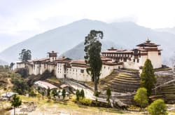 Trongsa Dzong panorama