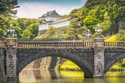 Nijubashi Bridge & Imperial Palace