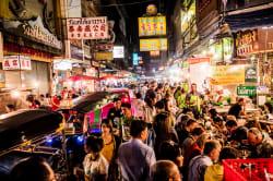Bustling Chinatown, Bangkok