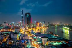 Ho Chi Minh City panorama