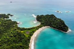 Aerial view of Manuel Antonio Photo by Atanas Malamov on Unsplash