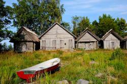 Fishermen huts, Altja village