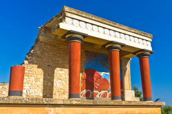 Knossos ruins, Crete