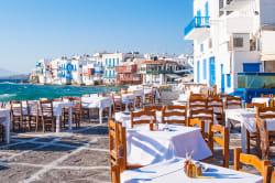 Cafe, Mykonos