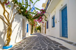 Parikia street view, Paros