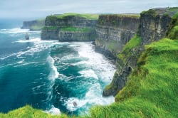 Spectacular view of the Cliffs of Moher