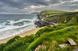 Panoramic view of Dingle Peninsula