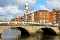 Bridge over Liffey River, Dublin