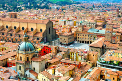 Bologna cityscape