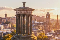 Calton Hill panorama, Edinburgh Photo by Julia Solonina on Unsplash