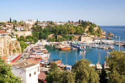 Old harbor, Antalya