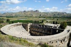 Amphitheater, Aspendos Photo by Saffron Blaze