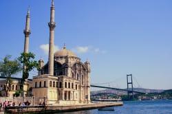 Ortakoy Mosque on the Bosphorus